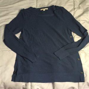 Blue sweater by loft